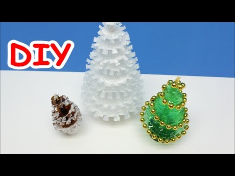 Diy crafts ideas how to make christmas tree out of milk for Crafts made out of waste