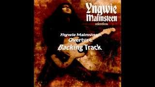 Overture Backing Track Yngwie Malmsteen (from Relentless) Eb.