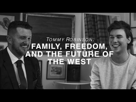 Tommy Robinson on Family, Freedom & the Future of the West