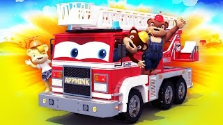 Disney Cars Toy Story Inspired Children Animation - Toy Fire Truck Toy Train Toy Crane Truck