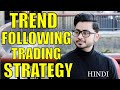 SIMPLE TREND FOLLOWING TRADING STRATEGY
