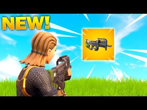 *NEW* COMPACT SMG GAMEPLAY LEGENDARY COMPACT SMG WEAPON SHOWCASE Fortnite Battle Royale