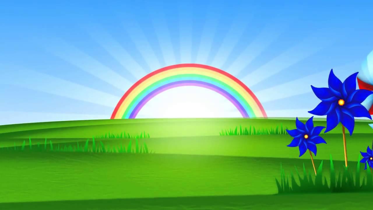 Fondo animado paisaje arco iris hd animate gifs de - Imagenes de paisajes ...