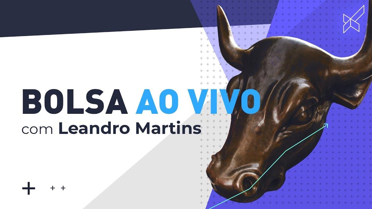 Bolsa AO VIVO Leandro Martins call modal, operações Day Trade Mini Índice, Dólar e Ações 09.10.18