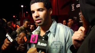 drake talks started from the bottom cash money pre grammy party
