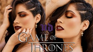 Urban Decay x Game of Thrones House Lannister Look | Melissa Alatorre
