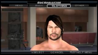 WWE SVR 11 AJ Styles CAW