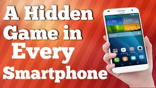 A Hidden Game in every Android smartphone |  Android tips Tricks