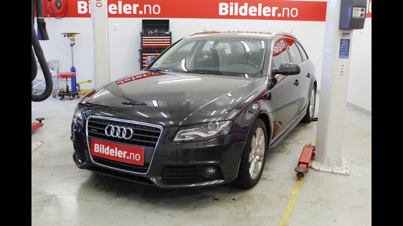 Audi A4 Hvordan bytte motorolje og filter 2 0TDI 2008 til 2015