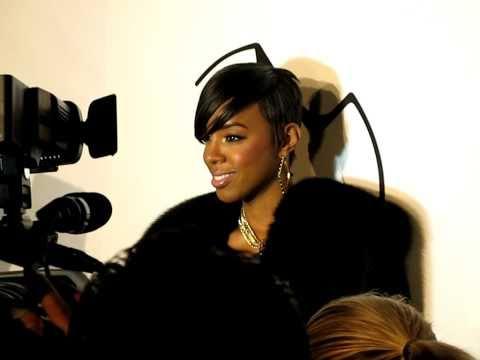 Kelly Rowland at Eva Minge Fashion Show