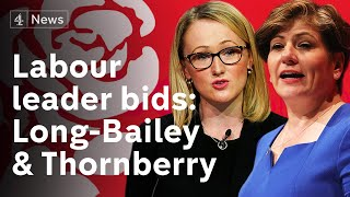 Who will replace Corbyn? Long-Bailey and Thornberry launch Labour leadership campaigns