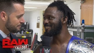 """The Outlandish"" Rich Swann keeps the party rolling with another victory: Raw Fallout, Dec. 5, 2016"