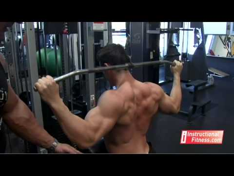 Instructional Fitness - Rear Pull Downs
