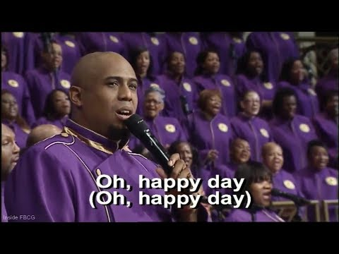 """Oh Happy Day"" Edwin Hawkins - Anthony Brown W/ FBCG Combined Choir"