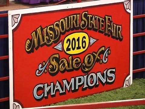 2016 Sale of Champions - Missouri State Fair