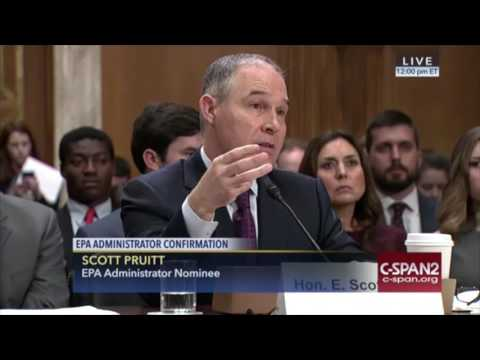 Senator Boozman Questions EPA Nominee at EPW Confirmation Hearing