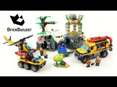 Lego City 60161 Jungle Exploration Site - Lego Speed Build - YouTube