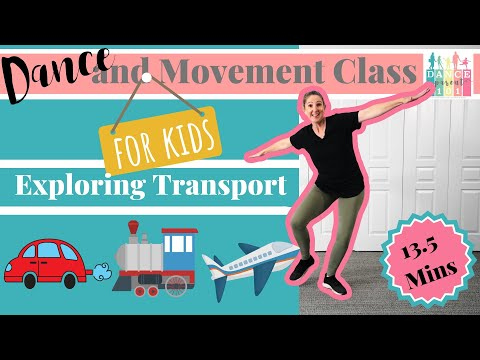 Exploring Movement With Toddlers and Dance
