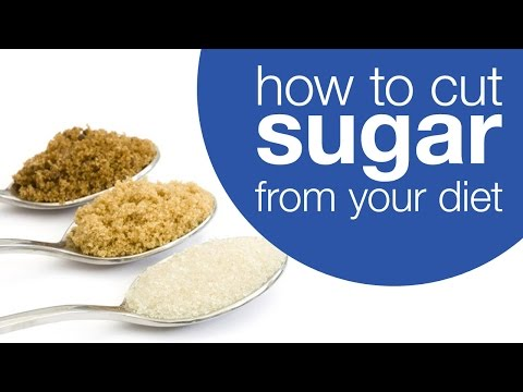 How to cut sugar from your diet