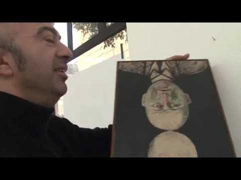 Hommage de Nicolas Topor à son père, Roland Topor