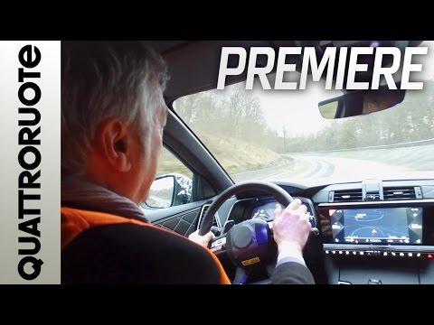 DS 7 Crossback: prima prova su strada | Quattroruote Premiere