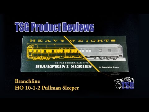 HO Scale Pullman Sleeper Car Kit Branchline Product Review