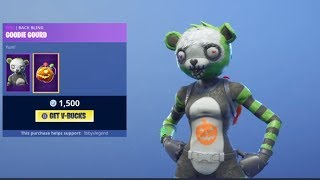 Fortnite *NEW* 'Spooky Team Leader' SKIN! (Fortnite Item Shop) - 1/11/2018
