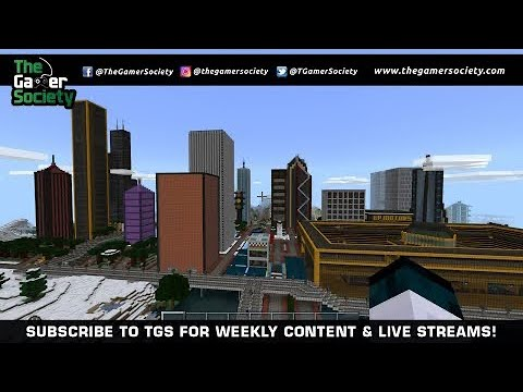 MINECRAFT: EPIC TGS WORLD – CREATIVE CITY BUILDING – TGS – LIVE STREAM – CXCII – 192ND!