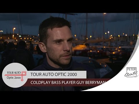 Guy Berryman (Coldplay) in the first stage (Paris - Saint Malo)