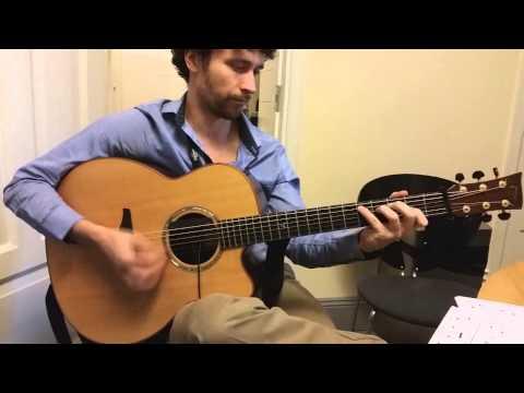 Irish Traditional DADGAD Guitar Lesson 1