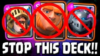 best deck for challenges   goison counter deck   clash royale