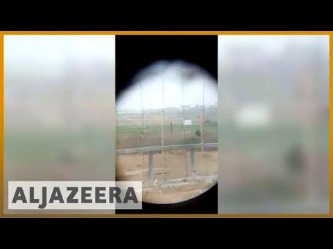 🇮🇱 Israel verifies video of sniper shooting Palestinian on Gaza border | Al Jazeera English