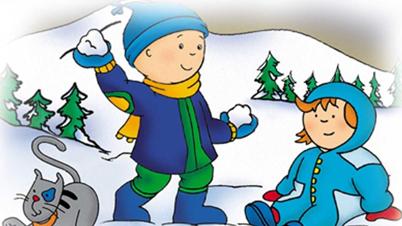 Caillou en Espaol   Navidad  Dibujos animados de Navidad
