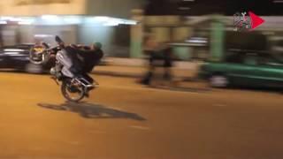 فيديو| ميدان المؤسسة يتحول إلى ساحة لسباق الدراجات البخارية