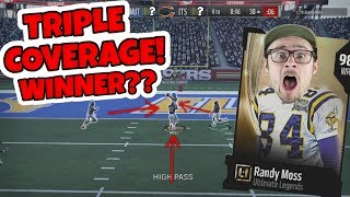 RANDY MOSS PROVES THAT HE'S THE BEST CARD IN THE GAME WITH THIS ONE PLAY!! Madden RTE