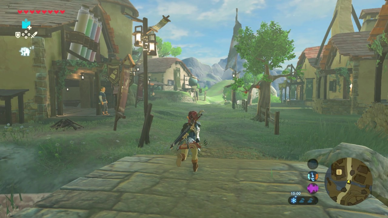 Legend of zelda botw showing off my house in hateno for Housse zelda
