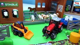 Farm Barn Playset Plus Fun Animal Toys For Kids
