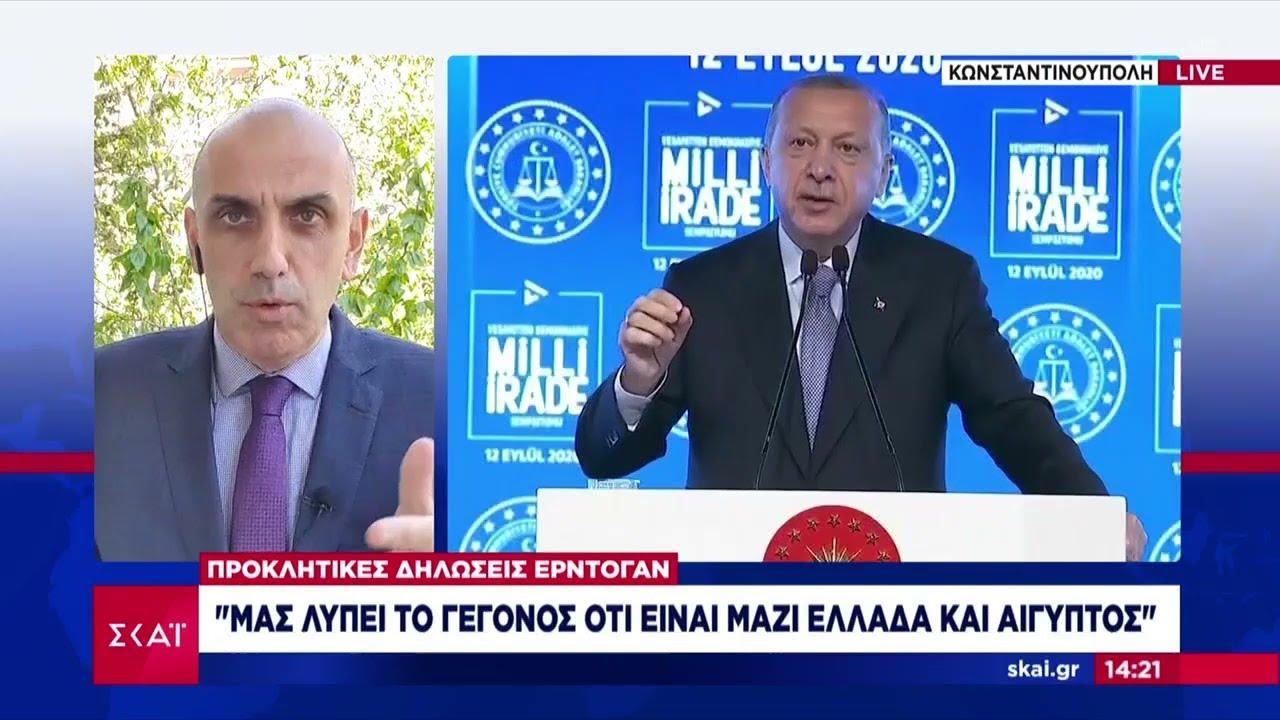 Ερντογάν: Μας λυπεί το γεγονός ότι είναι μαζί Ελλάδα και Αίγυπτος   Μεσημβρινό δελτίο   07/05/2021