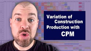 Variation of Construction Production with CPM│leanTakt
