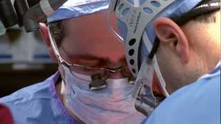 Christian bermudez, m.d., chief of cardiothoracic transplantation at upmc, explains a double lung transplant utilizing transmedics, inc.'s organ care system ...