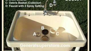Gss501 Portable Outdoor Sink