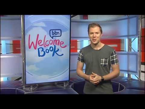 BTN Welcome Book Thank You Message