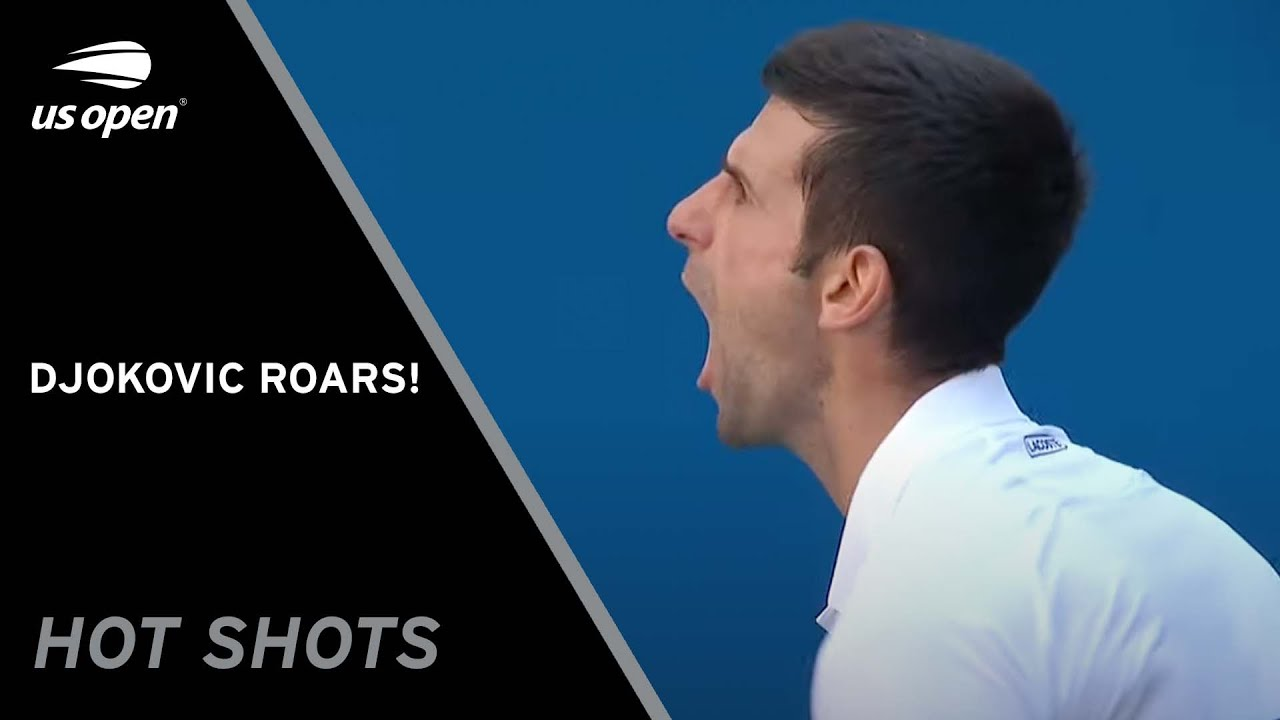 Novak Djokovic ROARS On Arthur Ashe | US Open 2021