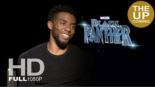 Chadwick Boseman interview on female cast and Black Panther as a family drama