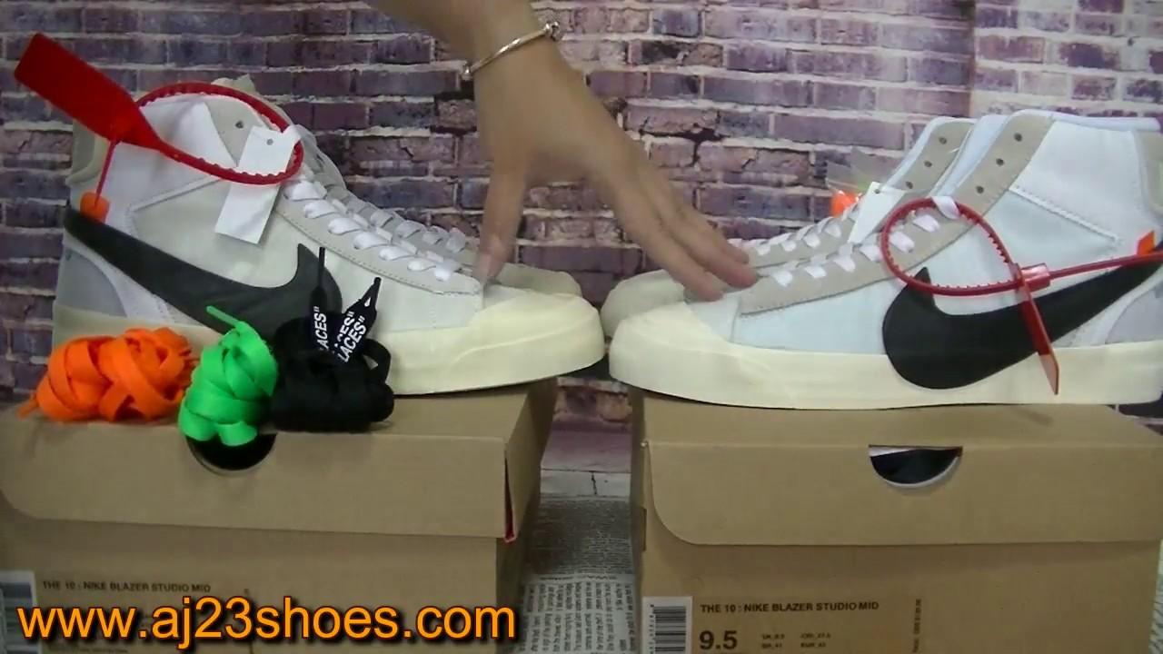 Viennent Riconoscere Nike Blazer Publicité Mensongère