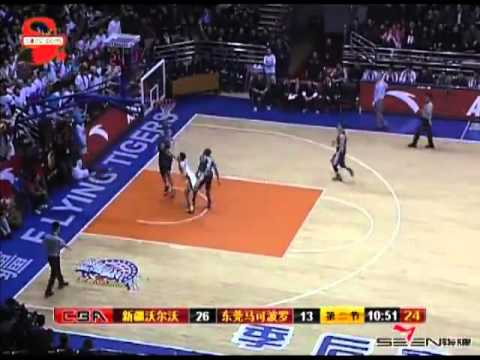 2012 CBA Playoff Game 2 Recap of DongGuan Leopards vs. Xinjiang Flying Tigers on 2-24-12
