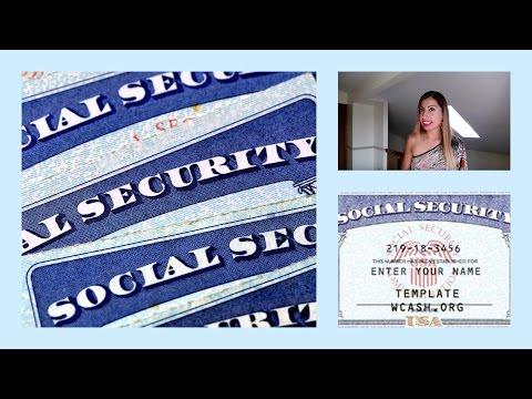 """PARA QUE SIRVE LA TARJETA DE SEGURO SOCIAL """"SOCIAL SECURITY""""?"""