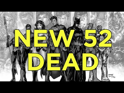 DC Comics ENDS The New 52