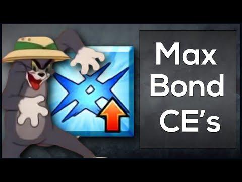 Max Bond CE's | Fate Grand Order NA