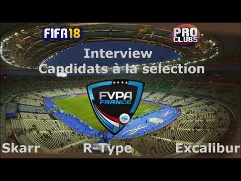 [FR] Interview des candidats au poste de Sélectionneur PC France
